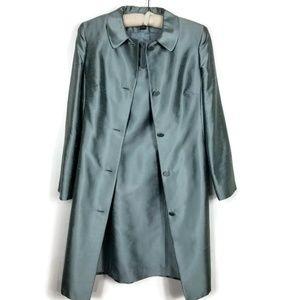 Dupioni Silk Mother of Bride Dress & Jacket Size 4